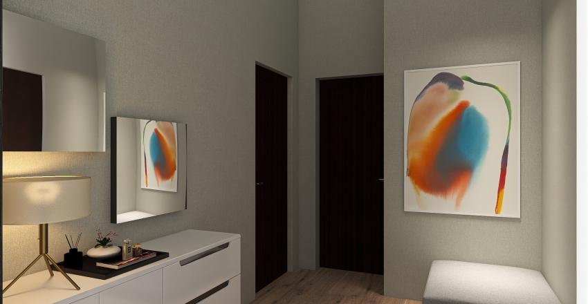 New York Family Apartment Interior Design Render