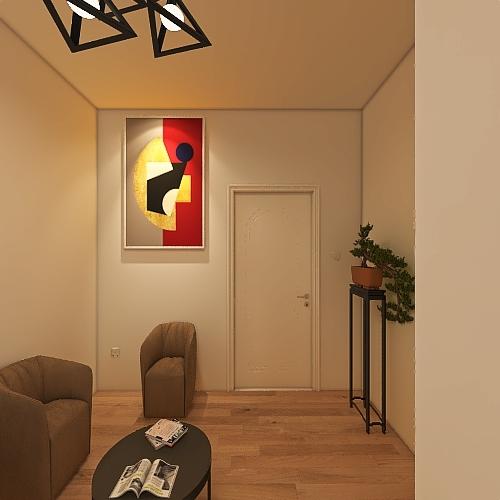 lawyer office  Interior Design Render