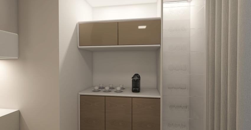 Cozinha Moderna Interior Design Render