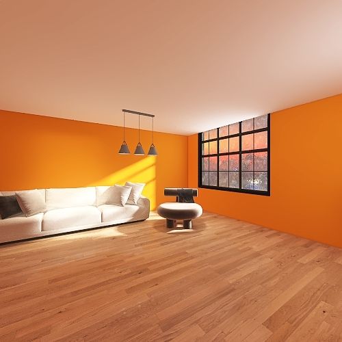 calming room Interior Design Render