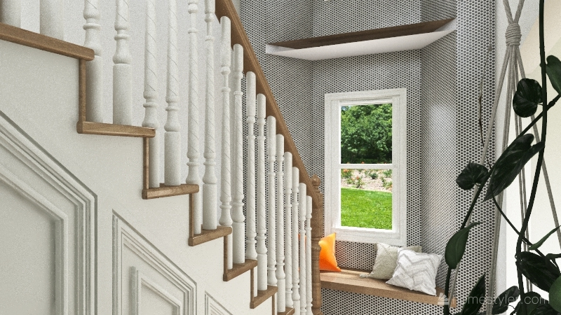 1705 House Interior Design Render