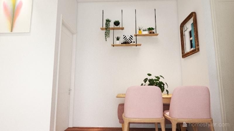 Apartamento Jaque Interior Design Render
