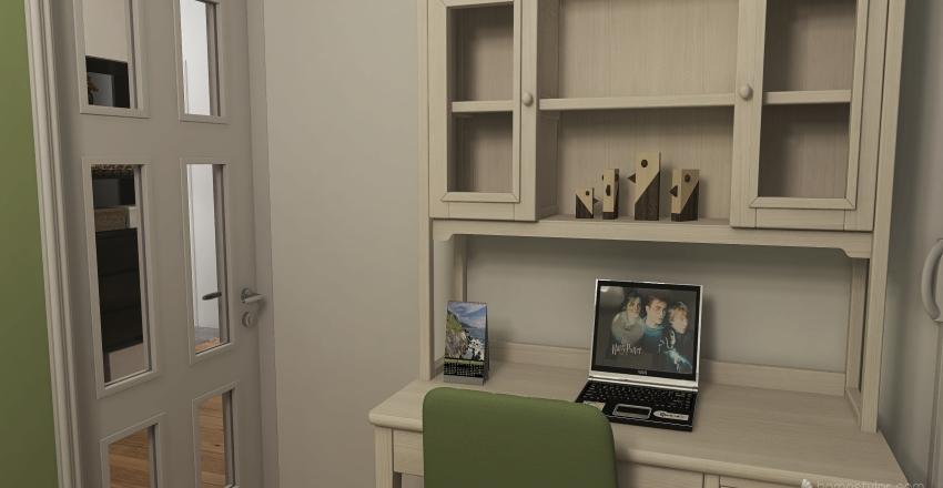 Strzelcow flat in new building Interior Design Render