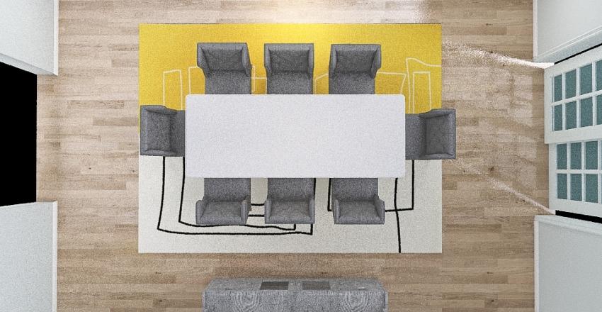 elegant dining Interior Design Render