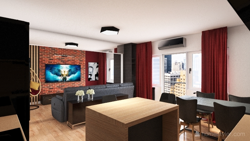 Hermisza 6 Interior Design Render