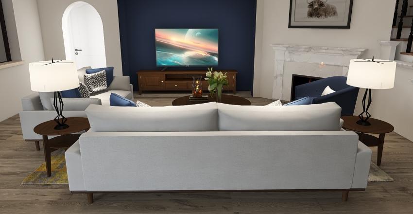 Living room 3D Interior Design Render
