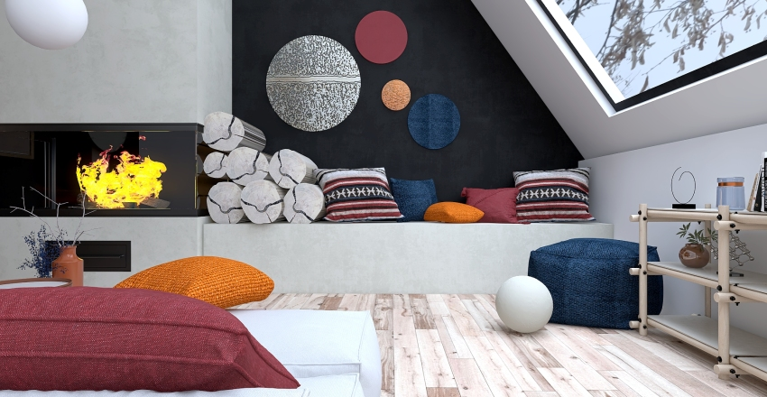 THE VIBRANCY WITHIN Interior Design Render