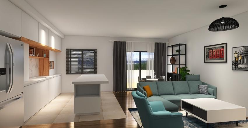 Herzlia_Apartment_hagay_1 Interior Design Render