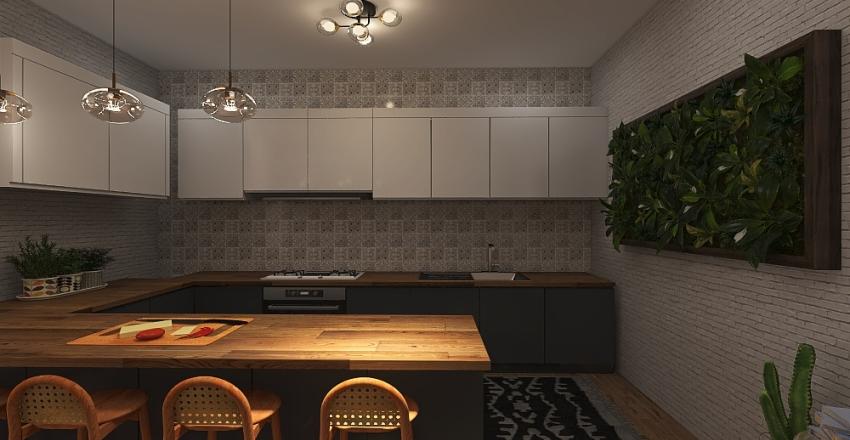 Modern Southwestern by Kalani Interior Design Render