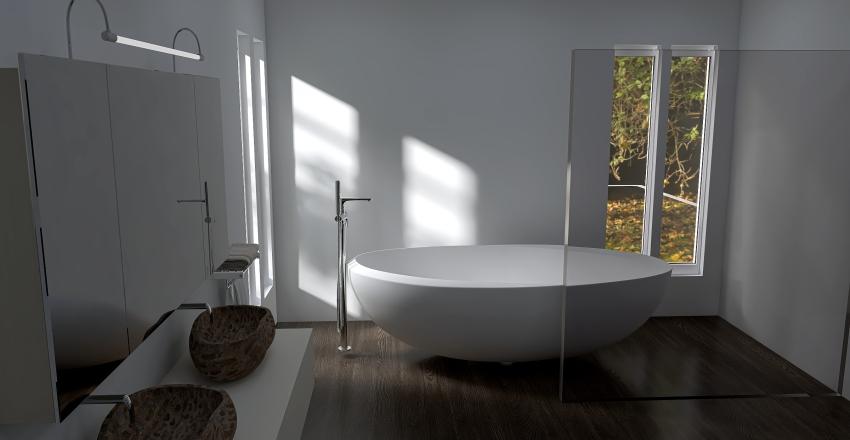 earthy tones Interior Design Render