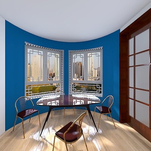 casa para Natalia Interior Design Render