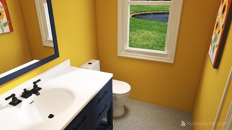 1705 House Interior Design Render