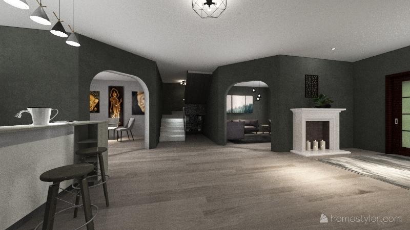 On suite Interior Design Render