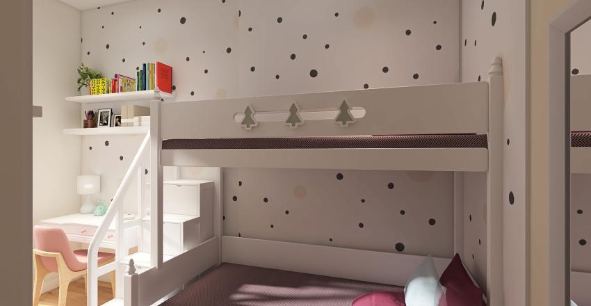 Cameretta Elena Interior Design Render