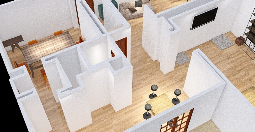 First Floor Interior Design Render