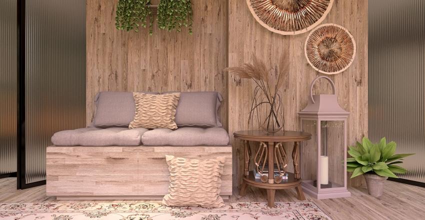 The Traveler Home Interior Design Render