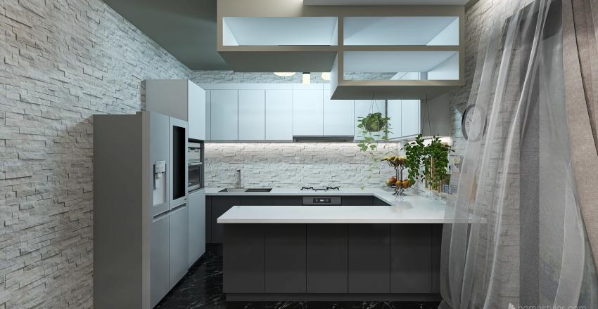 zona living Interior Design Render