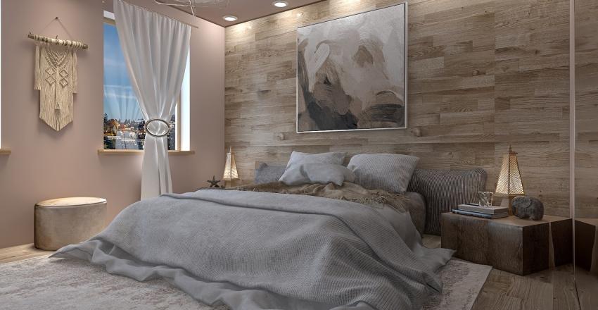 West Apartment Interior Design Render