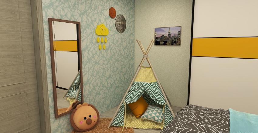 🌎 HABITACIÓN INFANTIL Interior Design Render