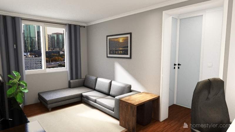 Meu Apartamento 2021 - 1534 Interior Design Render