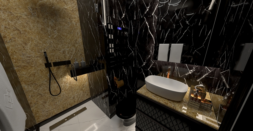 Apartament na wynajem Bulwary nadodrzańskie Interior Design Render