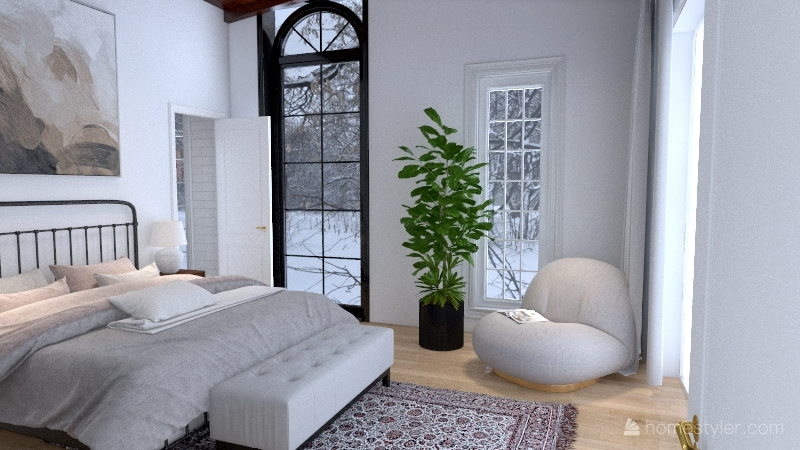 Parents House Interior Design Render