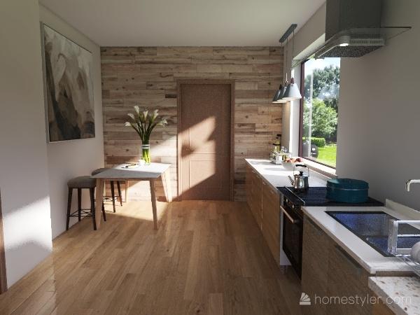 Diseño cocina-baño Interior Design Render