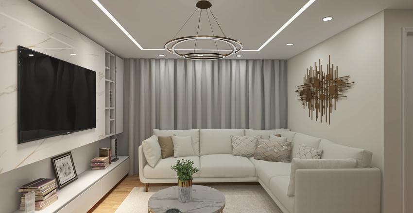 Fancy Basement  Interior Design Render