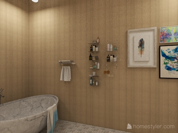 Small Home Interior Design Render