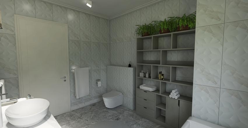 Солнечный город Interior Design Render