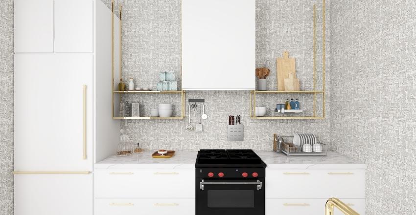 Apartament for two Interior Design Render