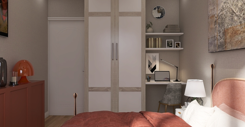 Bedroom-3 Interior Design Render