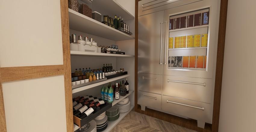 Scandinavian duplex Interior Design Render