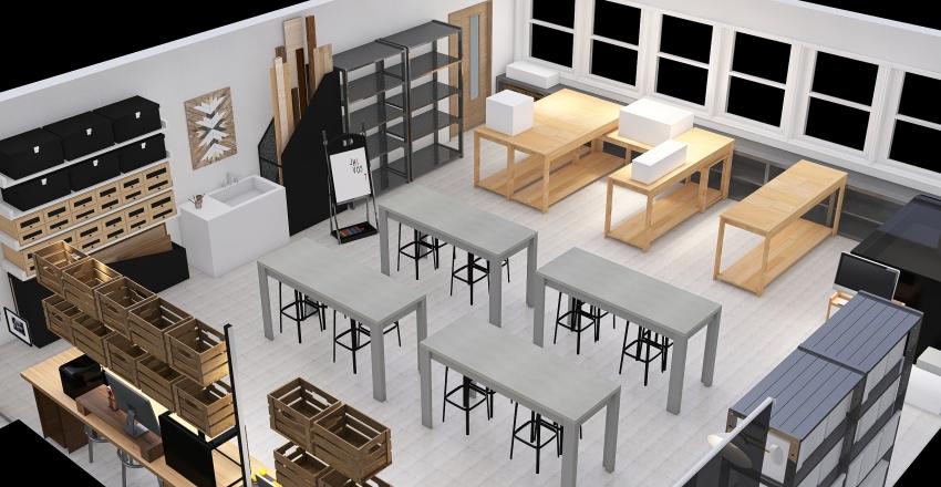 Makerspace Interior Design Render