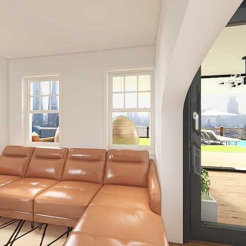Cosy & Relaxation House  3-16-2021 Interior Design Render