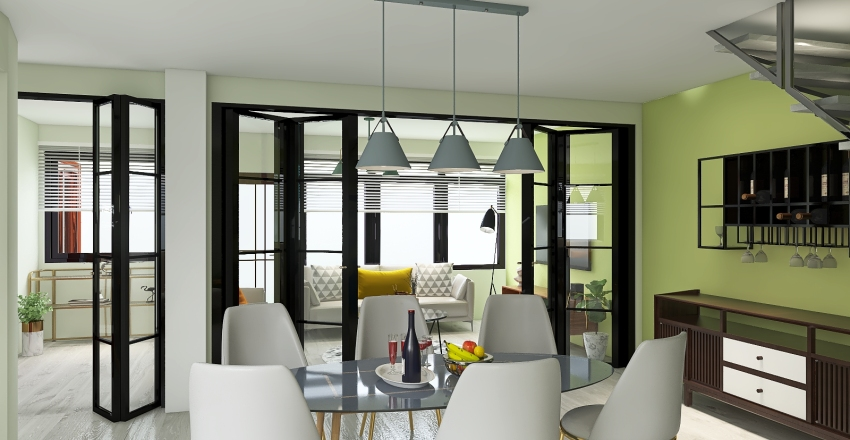PLASTICO Y VIDRIO Interior Design Render