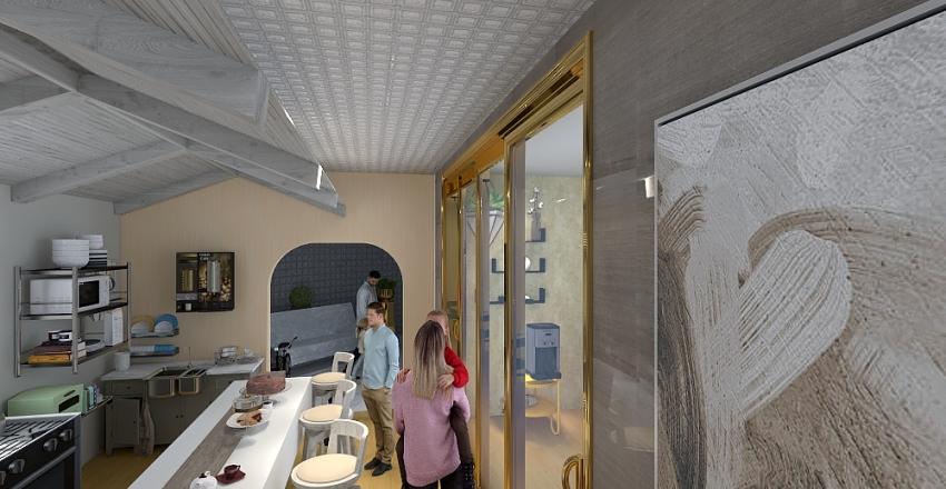 Um mini shopping.. Interior Design Render