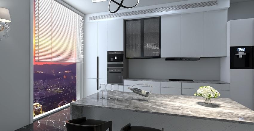 Modern House (INTERIOR) Interior Design Render