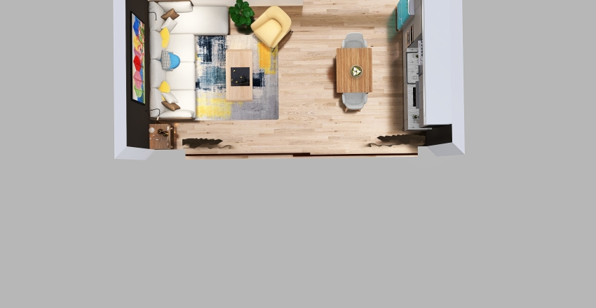 Boceto 2 Interior Design Render