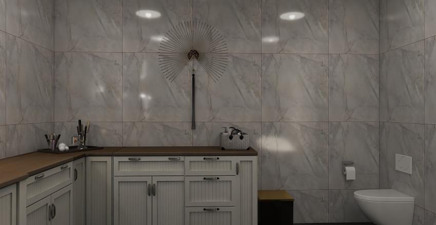 Modern ArtDeco Interior Design Render