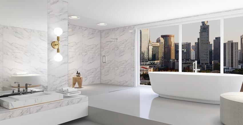 Penthouse Interior Design Render