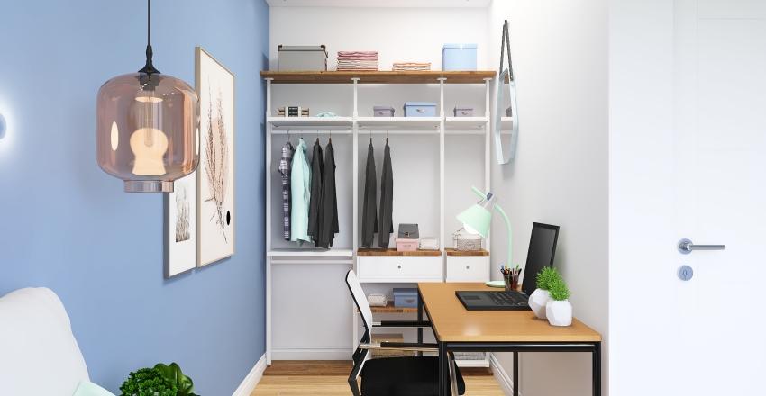 Projeto Quarto Interior Design Render