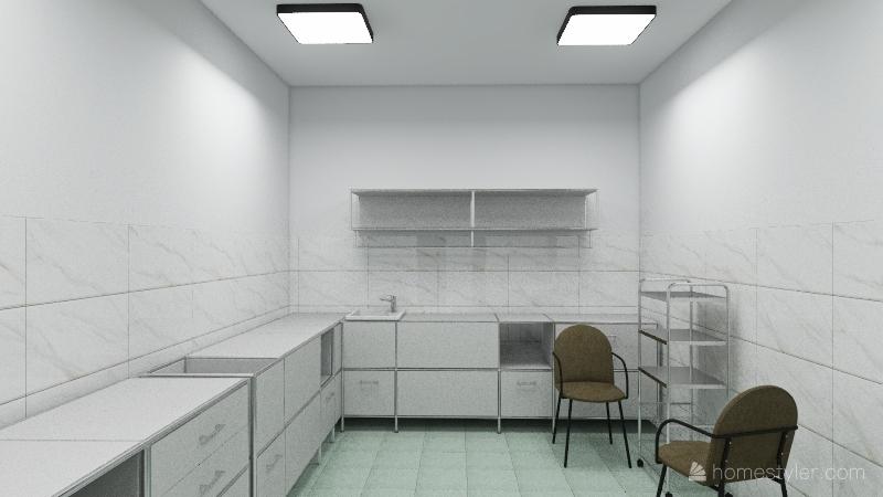 Кафе Лафа 1 Этаж Interior Design Render