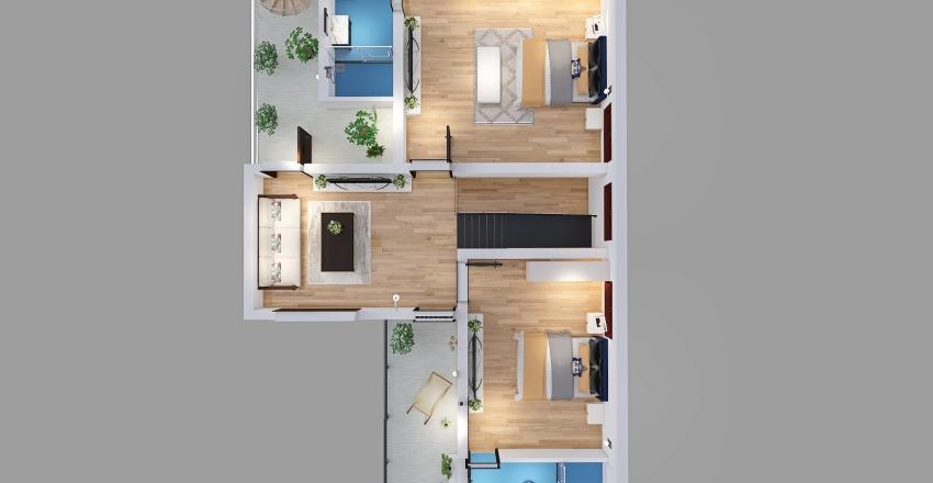 44 x 50 FF Interior Design Render