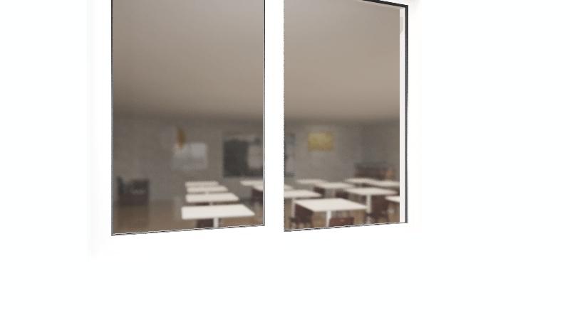 TAST 102 Class Layout Interior Design Render