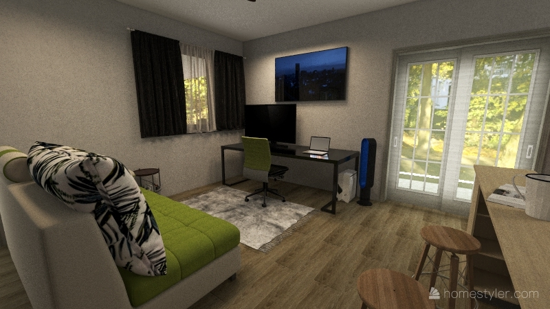 MamaGinas Interior Design Render