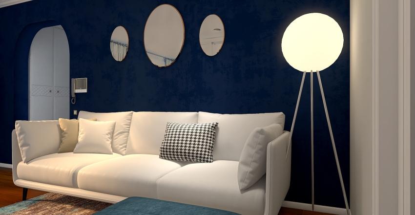 Family apartment Interior Design Render