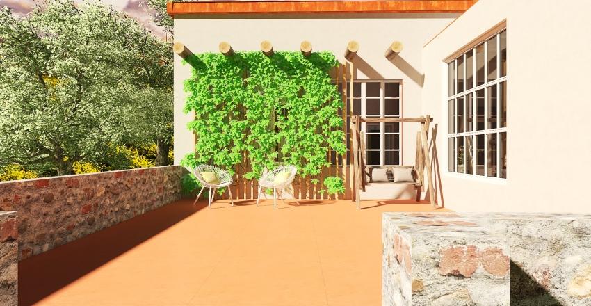 Wine Country House Interior Design Render
