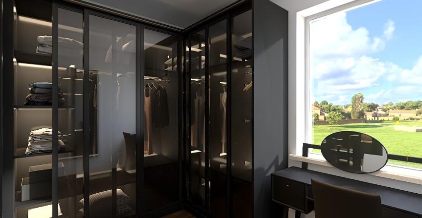 Salon dół Interior Design Render