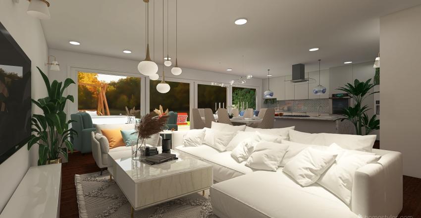 Kitchen Extension Interior Design Render